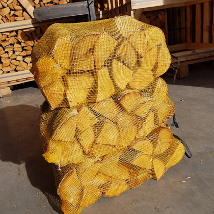 Firewood in the bags (empty bags size 46*70)